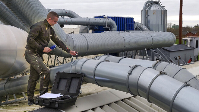 Ventilation udsugning ventilationsservice procesventilation