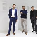 ESS ledelse. Fra venstre til højre: Erik Grootenhuis, direktør, Eric og Jürgen Keizers, grundlæggere og CEOs i ESS.