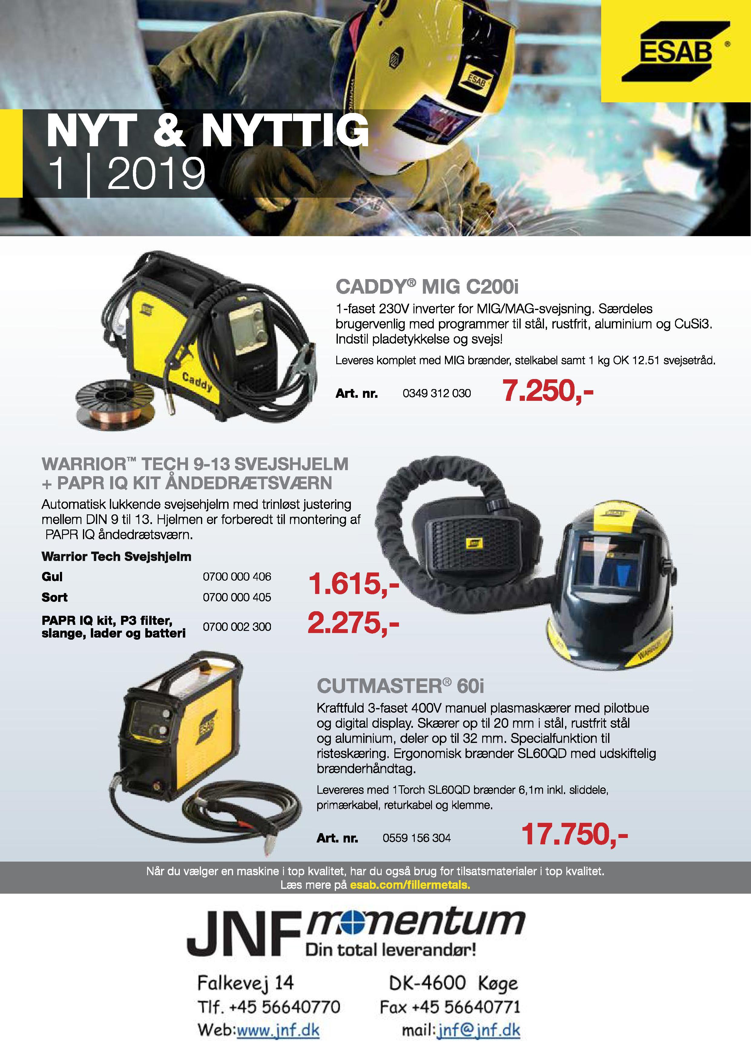 b7069ea2f Tilbud på ESAB svejsemaskiner og tilbehør - Metal Supply DK