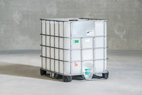 Fødevaregodkendt IBC Container/palletank 300L.-1050L.