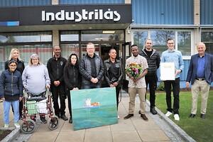 Mångfaldhetspris tilldelas Industrilås.