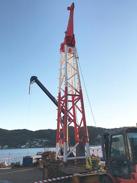 Testtårn - Kverneland Aqua AS - Testtårn, testårn,