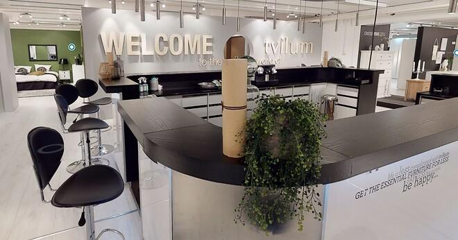 Tvillum har bygget digitale tvillinger af showrooms og giver kunder fra hel verden nem adgang til Open House 2020 udstillingen