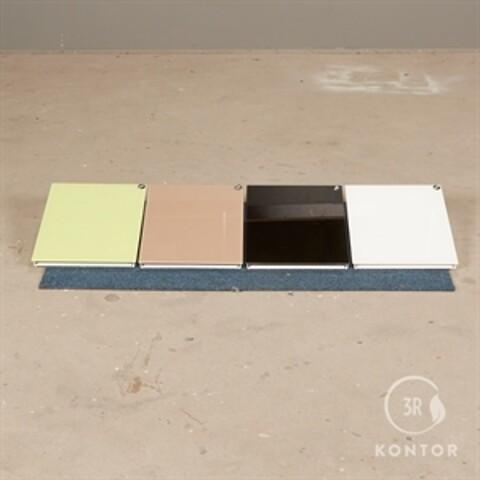 Chat board magasinholder - 4 stk. forskellig farve.