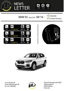 BMW X5 dragkrok det nye T60 system från GDW