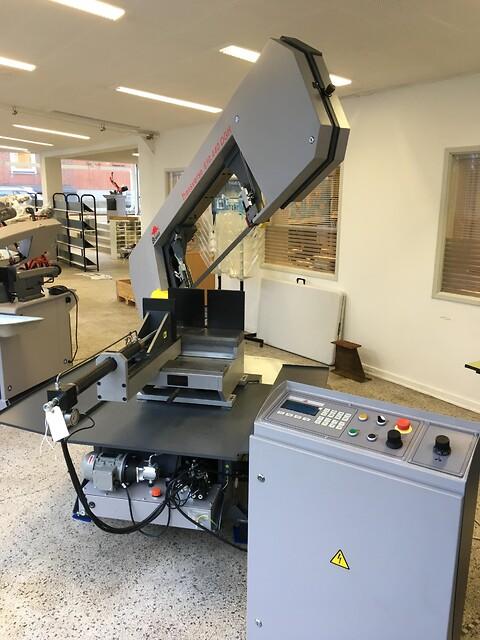 Ny Bomar båndsav type transverse 610.440DGH sælges