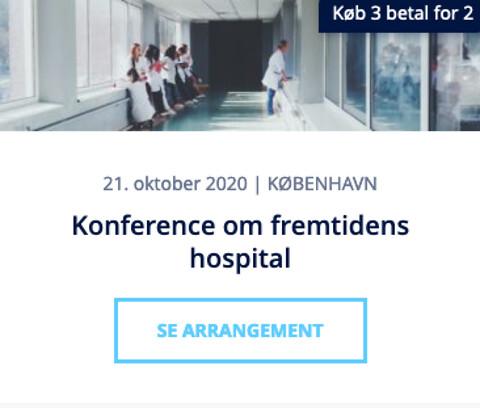 Konference om byggeri og indretning af fremtidens hospital 2020 - Konference om byggeri og indretning af fremtidens hospital 2020 - Nohrcon