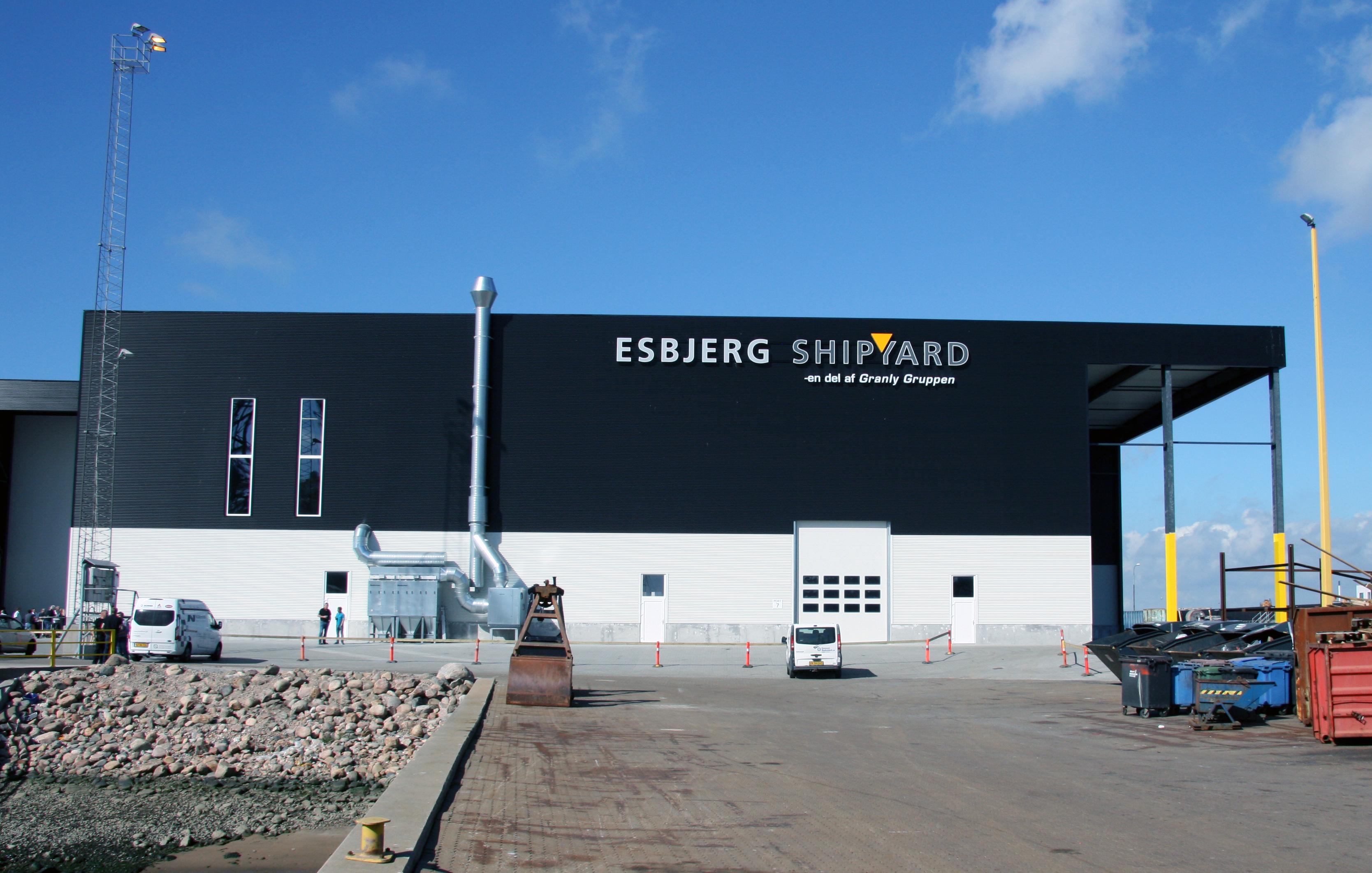 Image result for Esbjerg Shipyard