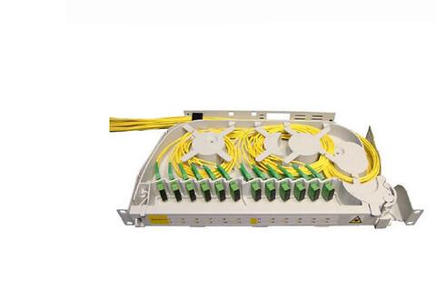 """19"""" fiberskuffe til patching - SRS3000"""