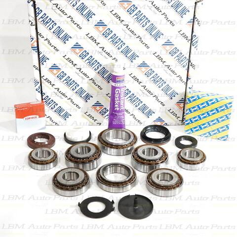 Lagersatser till manuella växellådor, Renault, Nissan och Opel.  - PK5 PK6 PF6