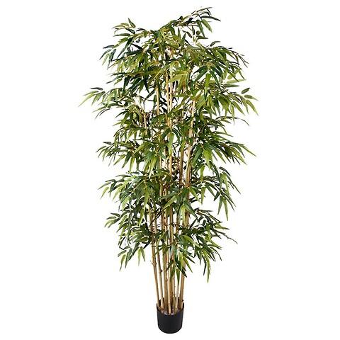 Bambus i potte, 205cm, kunstig plante