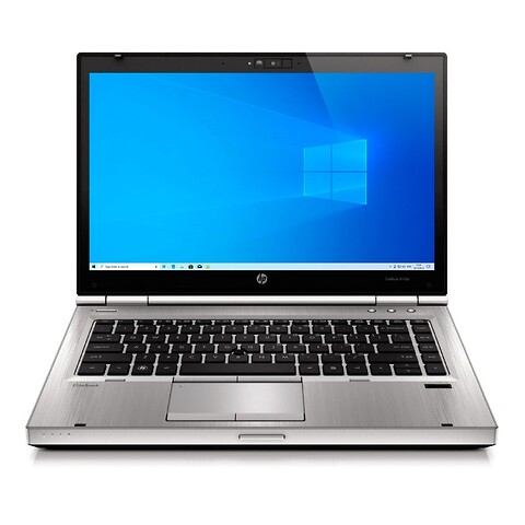 """14"""" hp elitebook 8460p - intel i5 2410M 2,3GHz 120GB ssd 8GB Win10 pro - grade a - bærbar computer"""