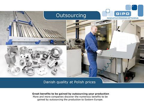 Gipo tilbyder professionel spåntagende bearbejdning fra produktion i Polen