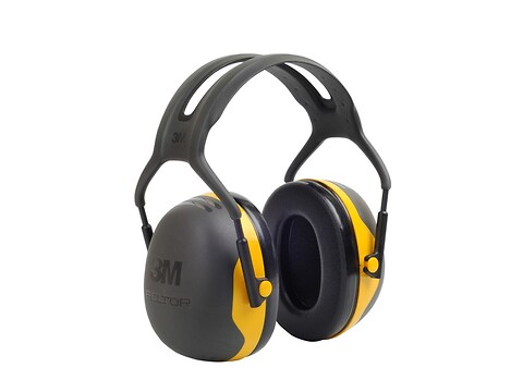 Høreværn peltor X2 - gul - 3M