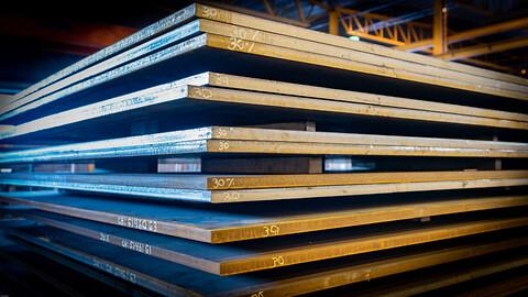 Kjøp plater hos Norsk Stål! - Varmvalsede plater VV Norsk Stål stålplater tynnplater