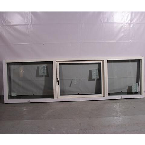 Topstyret fast vindue i træ/alu, 008477