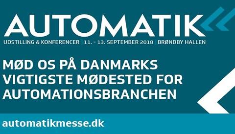 Dansk Ventil Center A/S udstiller på Automatik messen