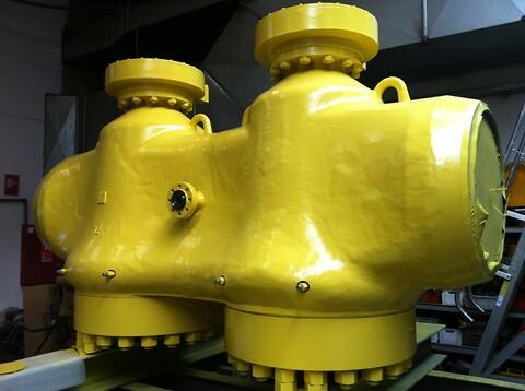 RODECO udfører industrilakering af stålkonstruktioner