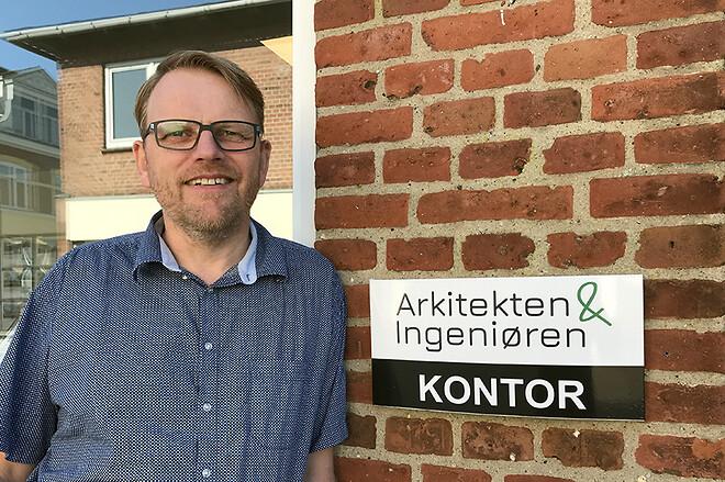 Arkitekt Søren Bro Bøgedal fra firmaet Arkitekten & Ingeniøren