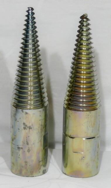 Spidstap sæt 16 mm for polermaskine