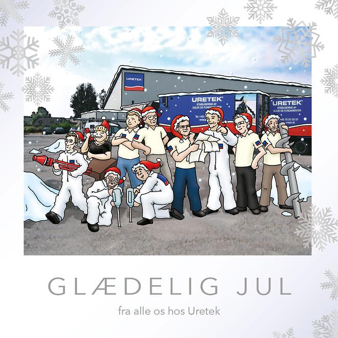Glædelig jul samt et godt nytår fra alle os i Uretek