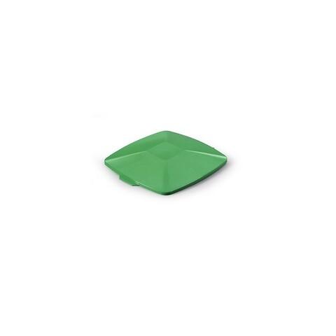 Låg til plastbeh.40L 328x360x40 mm - grøn