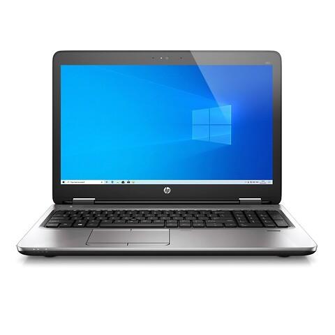 """15"""" hp probook 650 G1 - intel i5 4310M 2,7GHz 128GB ssd 8GB Win10 pro - grade b - bærbar computer"""
