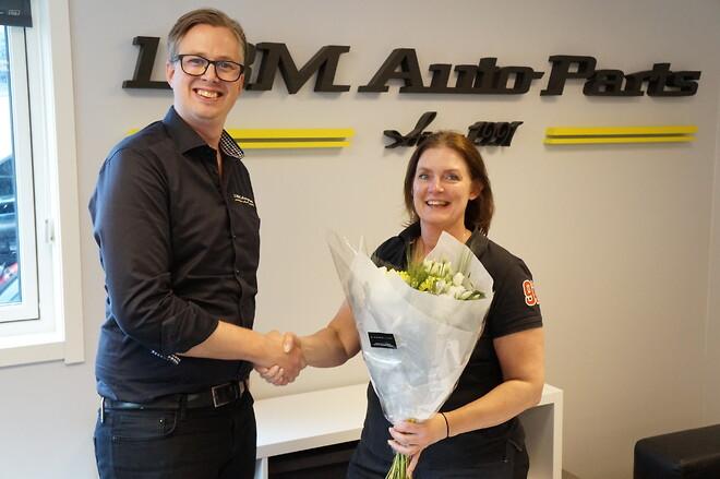 LBM Autoparts, Helena Nordin, Erik Stålebo