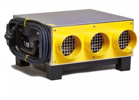 AIRMAXX H-2000 ventilator: Fleksible blæsere til tørring af bygninger - AIRMAXX H-2000 ventilator er ultra-fleksibel og kan bruges overalt.