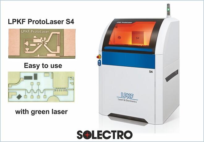 Kompakt lasersystem för elektroniklabbet