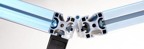 Standard aluprofiler og tilhørende komponenter fra Unimec A/S - Standard aluprofiler og tilhørende komponenter