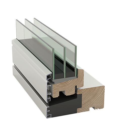 Idealcombi Frame IC - Klassisk vedligeholdelsesfrit vindue i ny energikonstruktion
