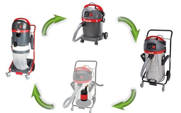 Skån kroppen med den rette støvsuger. - Building Supply DK