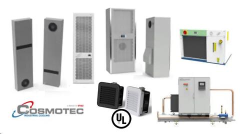 Energieffektive aircondition-, ventilation-, og varmeveksler-løsninger fra Cosmotec