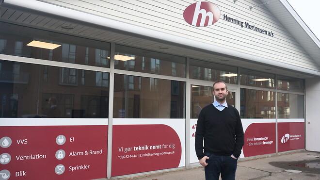 Teknikentreprenør med nyt kontor i Aarhus