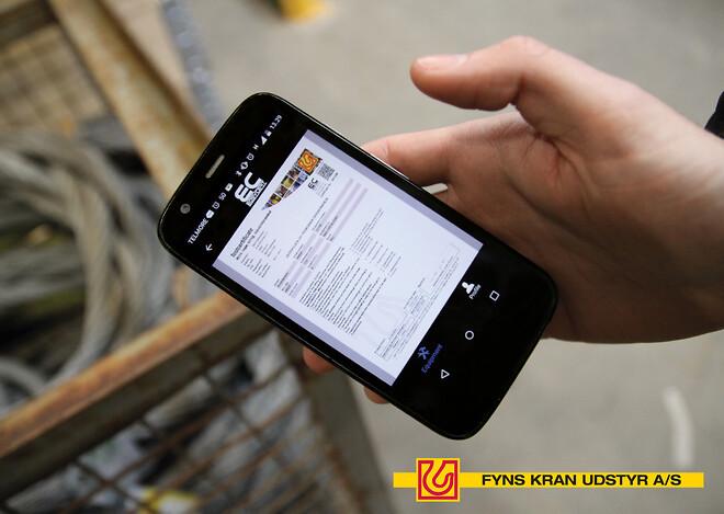 EasyCert - Fyns Kran Udstyr - app