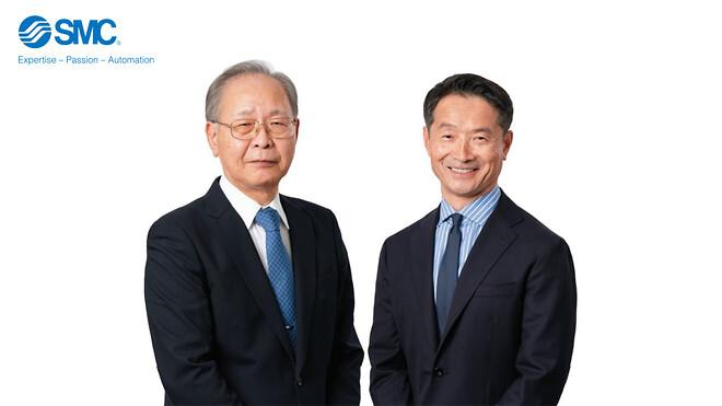 Katsunori Maruyama (t.v.) och Yoshiki Takada (t.h.)