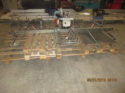 Brugt vakumåg 500 kg sælges af stålspecialisten