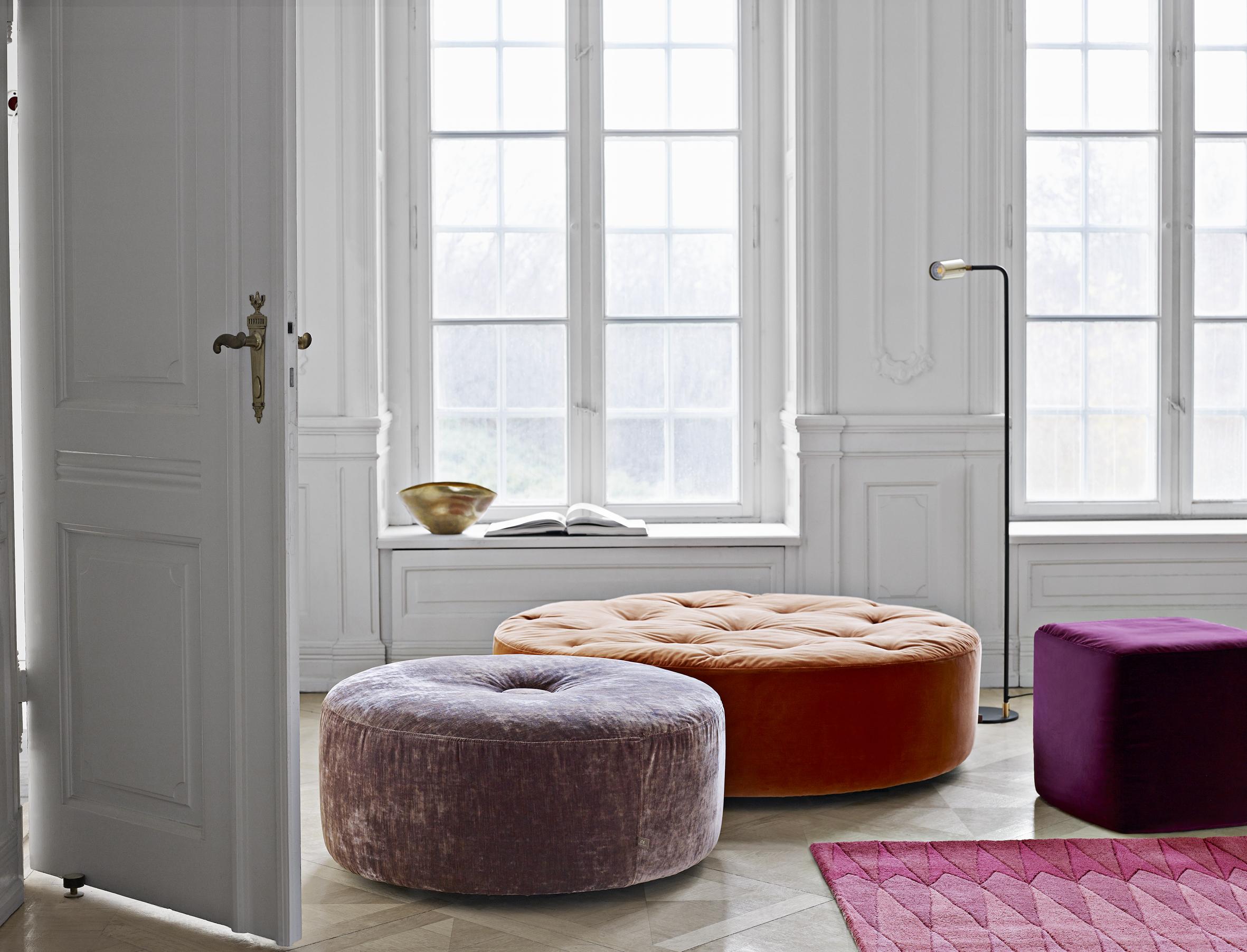 Eilersen adds four new poufs - Nordic Design News