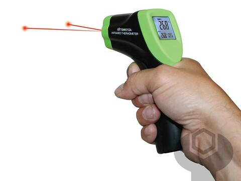 Termometer infrarødt 610 elma