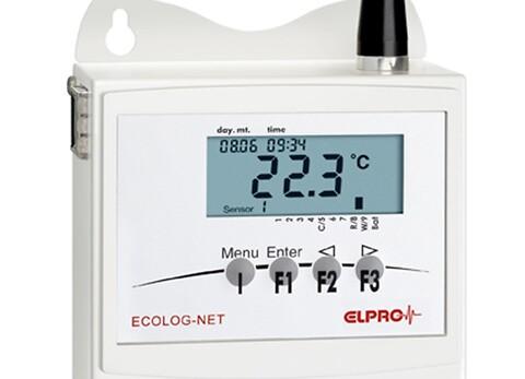 Ecolog-Net datalogger: Nem overvågning af fugtmåling - Ecolog-Net er en trådløs datalogger, som opsamler og gemmer målinger af temperatur og luftfugtighed.