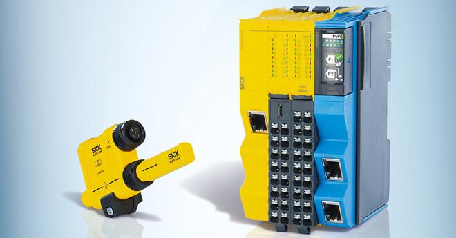 Flexi Compact er den nyeste sikkerhedsPLC fra SICK