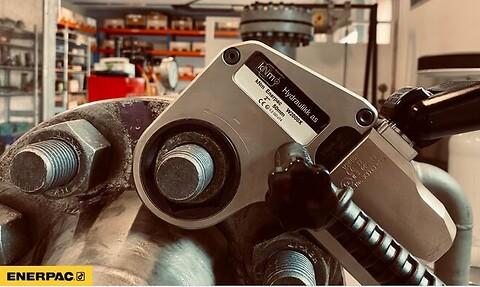 Atex sertifiserte moment verktøy fra kNm Hydraulikk as