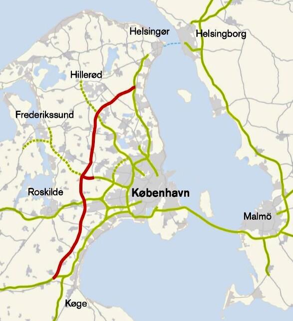 Nordsjaellandsk Trafikkorridor Halveres Transportmagasinet