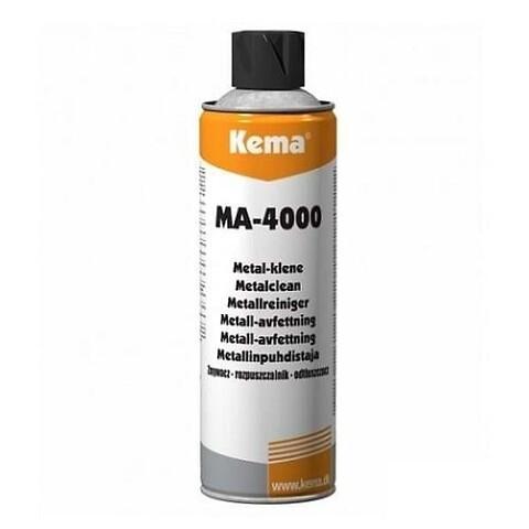 Metal-Klene, MA-4000 Kema, 400 ml - metalklene affedter affedtning rense rens rensespray spray kema ma4000 ma-4000