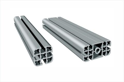 Ramprofil PL 40 / PL 80 i natur eloxerad aluminium för snabb och enkel uppbyggnad  - #aluminiumprofil\n#stativ\n#bord\n#konstruktion\n#isel\n#solectro\n#skyddshuv\n#kapsling