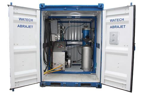 Abrajet 600 Ex - produsert av Watech - abrajet, kaldkutting, vannskjæring, våtsandblåsing