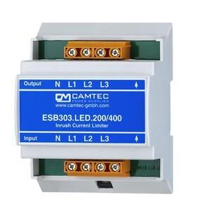 ESB303, Camtec, startstrømsbegrænser til LED drivere, Power Technic