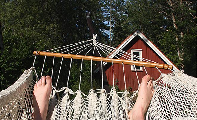 Med serviceavtal kan du ligga kvar i hängmattan i sommar!