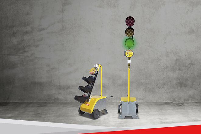 Nissen; trafikljus; trafiksignal; temporärt trafikljus